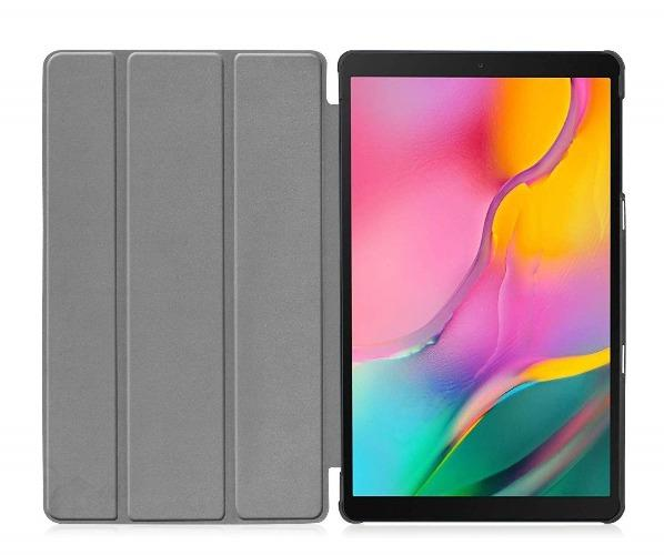 Folio Smart Case - Samsung Tab A 10.1 (2019) Black - Sahara Case LLC