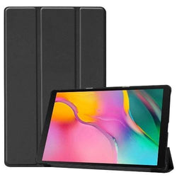 "Black Samsung Tab A 10.1"" (2019) Case - Folio Smart Case"