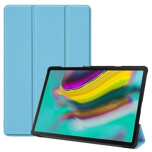 Folio Smart Case - Samsung Tab S5e - Aqua - Sahara Case LLC