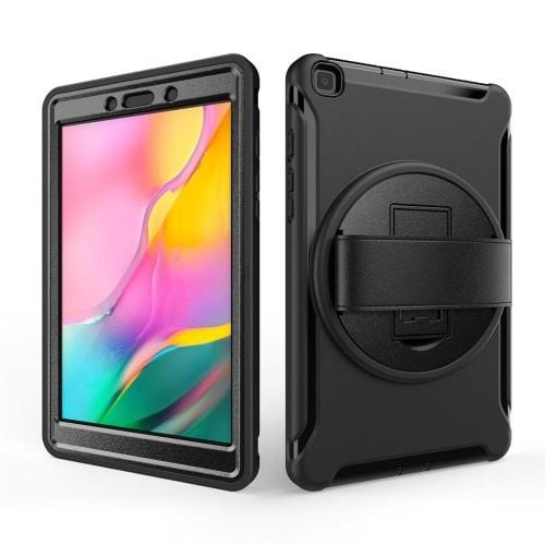 "Samsung Galaxy Tab A 8.0"" T290 Case in Scorpion Black (2019) - Heavy Duty Series - Sahara Case LLC"