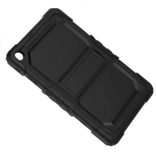 "Samsung Tab A 10.1"" Case with Screen Protector in Scorpion Black - Heavy Duty Series - Sahara Case LLC"