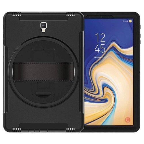 Heavy Duty with Built-in Screen Protector - Samsung Galaxy Tab A 10.5 Case - Scorpion Black - Sahara Case LLC