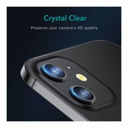 "ZeroDamage - Camera Lens Protector (2 Pack) - for Apple iPhone 12 Mini 5.4"" (2020)"