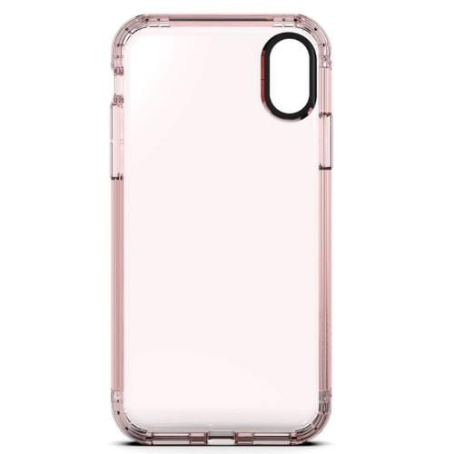 Inspire Case & Glass Screen Protection Kit - iPhone X/XS Clear Rose Gold - Sahara Case LLC