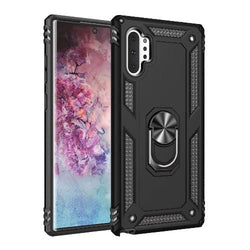 Military Series Kickstand Case Samsung Galaxy Note 10+ and Note 10+5G Black - Sahara Case LLC