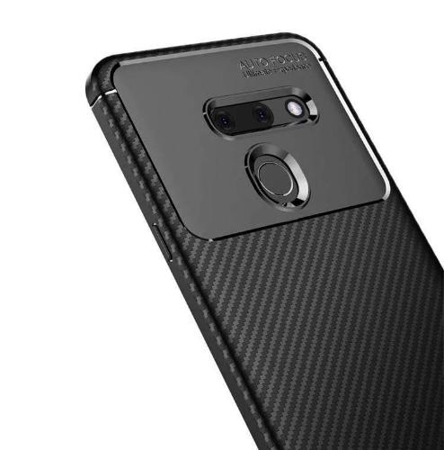 SaharaCase Slim-fit Protection Series Case - for LG G8 ThinQ – Black - Sahara Case LLC