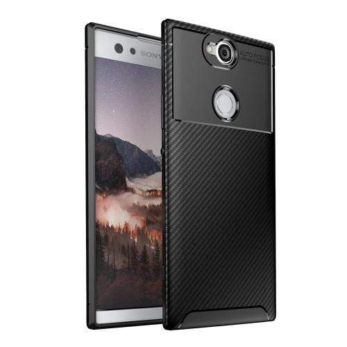 Prestige Series Case & Glass Screen Protector - Sony Xperia XA2 - Black - Sahara Case LLC