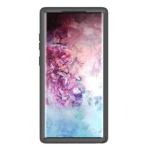 Protection Series Case Samsung Galaxy Note 10+ and Note 10+5G  Black Clear - Sahara Case LLC