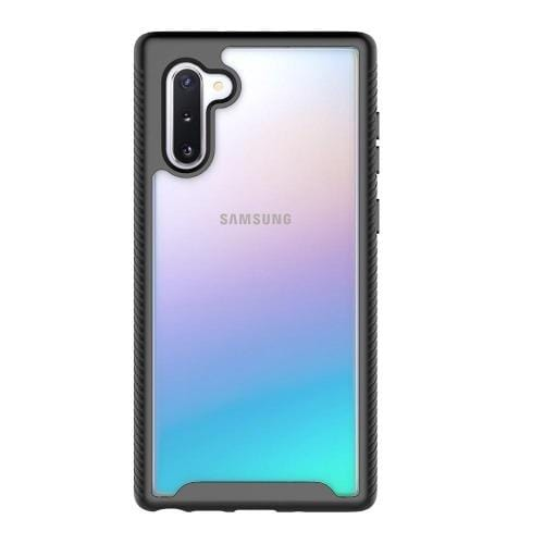 Protection Series Case Samsung Galaxy Note 10 - Black Clear - Sahara Case LLC