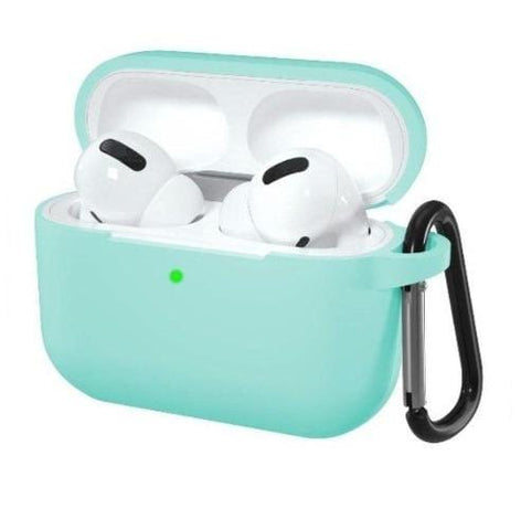 SaharaCase - Protective Silicone Case Kit for Airpods Pro - Oasis Teal