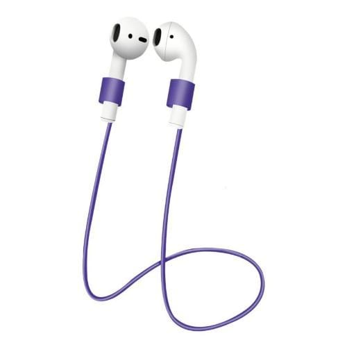 SaharaCase - Accessory Kit - for Apple AirPods 1st Gen and 2nd Gen - Purple - Sahara Case LLC