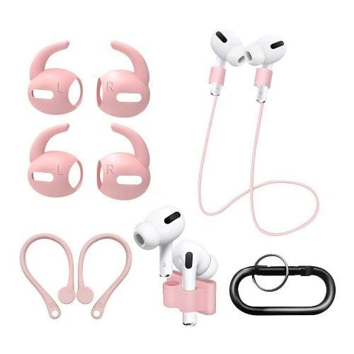 Pink AirPods Pro Accessories - Accessory Kit