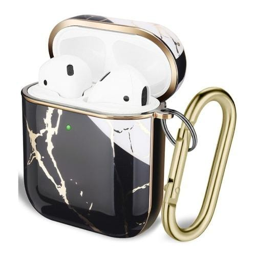 SaharaCase - Apple AirPods - Luxury Case and Kit - Black - Sahara Case LLC