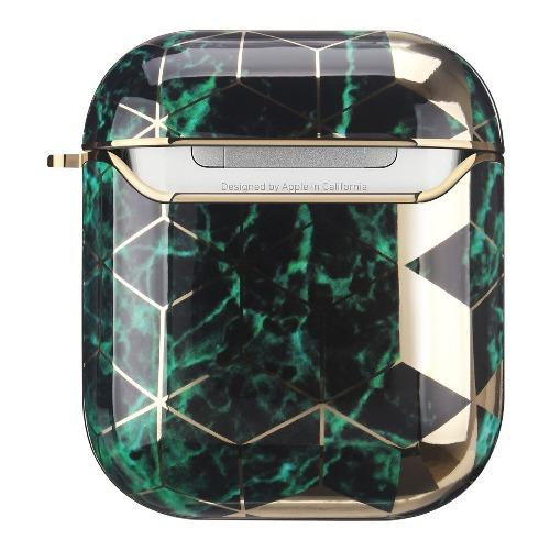 SaharaCase - Apple AirPods - Luxury Case and Kit - Green - Sahara Case LLC