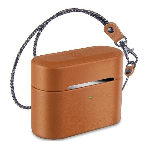 SaharaCase - Apple AirPods Pro - Retro Case Kit - Spider Brown - Sahara Case LLC