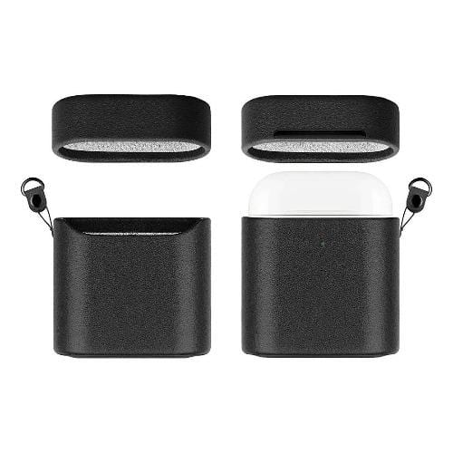 SaharaCase - Apple AirPods - Retro Case Kit - Black - Sahara Case LLC