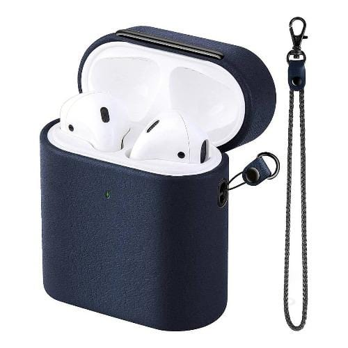 SaharaCase - Apple AirPods - Retro Case Kit - Blue - Sahara Case LLC