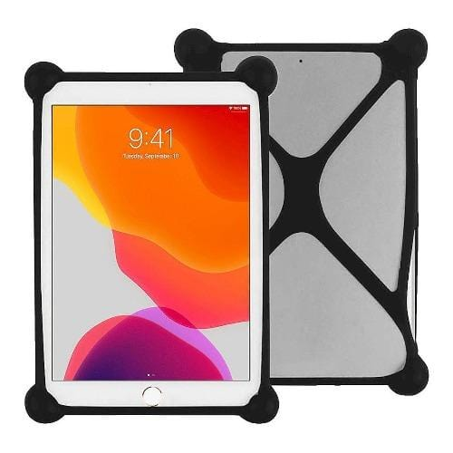 "SaharaCase - Bumper Protection Case - for Most Tablets up to 11"" - Black - Sahara Case LLC"