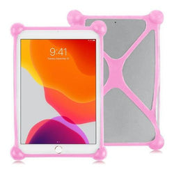 "SaharaCase - Bumper Protection Case - for Most Tablets up to 11"" - Pink - Sahara Case LLC"