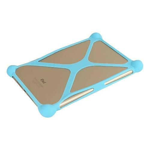 "SaharaCase - Bumper Protection Case - for Most Tablets up to 8"" - Aqua - Sahara Case LLC"
