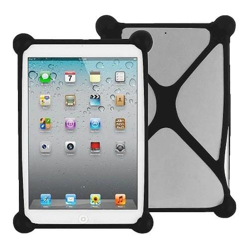 "SaharaCase - Bumper Protection Case - for Most Tablets up to 8"" - Black - Sahara Case LLC"