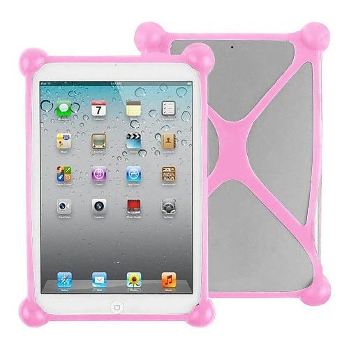 "SaharaCase - Bumper Protection Case - for Most Tablets up to 8"" - Pink - Sahara Case LLC"