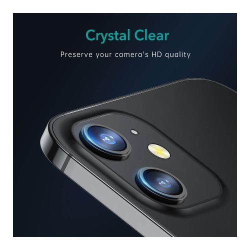 "SaharaCase - Camera Lens Protector (2 Pack) - for Apple iPhone 12 6.1"" - Sahara Case LLC"