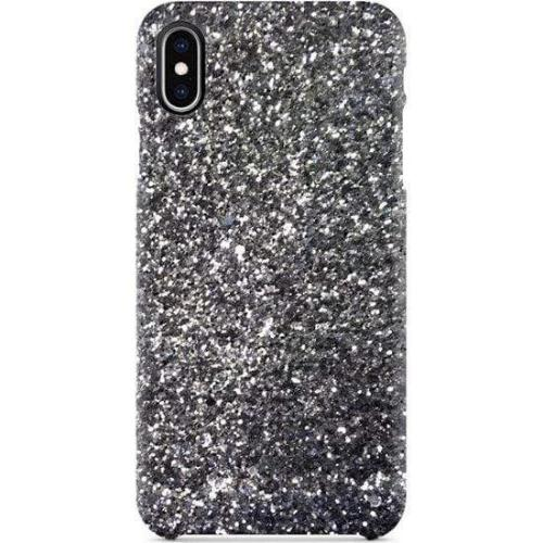 SaharaCase - Classic Series Sparkle Case - Apple iPhone XR - Sparkle Silver - Sahara Case LLC