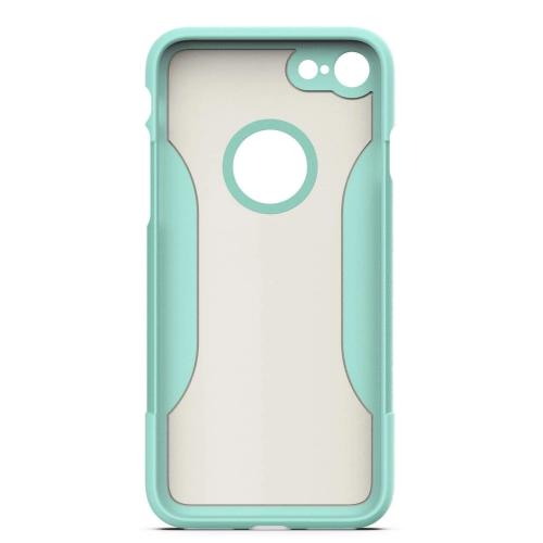 SaharaCase Classic Case & Glass Screen Protection Kit - iPhone 8/7 Aqua - Sahara Case LLC