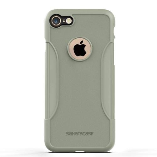 SaharaCase - Classic Series Case - iPhone SE(Gen 2)/ 8/7 - Army Green - Sahara Case LLC