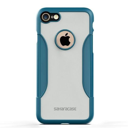 SaharaCase - Classic Series Case - iPhone SE(Gen 2)/ 8/7 - Lizard Blue - Sahara Case LLC