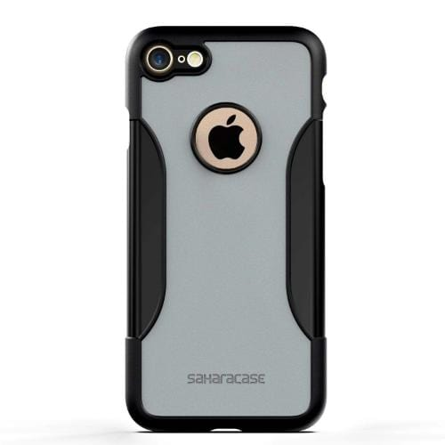 SaharaCase Classic Case & Glass Screen Protection Kit - iPhone 8/7 Mist Gray - Sahara Case LLC