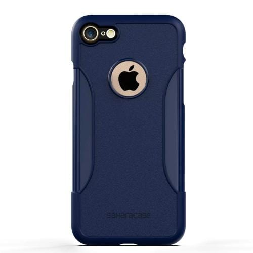 SaharaCase Classic Case & Glass Screen Protection Kit - iPhone 8/7 Night Sky Navy - Sahara Case LLC