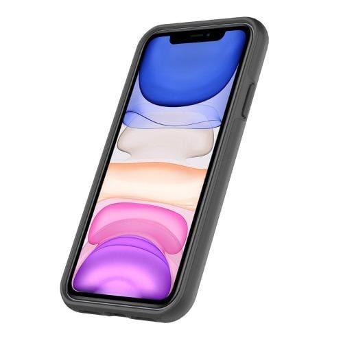 "SaharaCase Classic Series Case iPhone 11 6.1""- Black - Sahara Case LLC"
