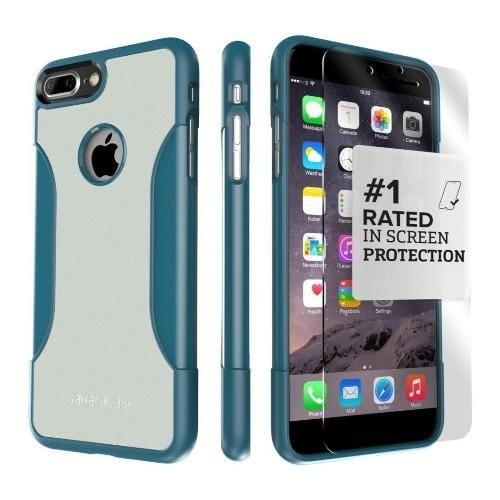 SaharaCase - Classic Series Case - iPhone 8/7 Plus - Lizard Blue - Sahara Case LLC