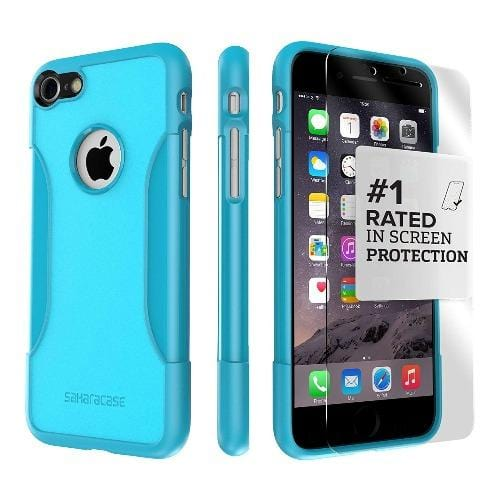 SaharaCase - Classic Series Case - iPhone SE(Gen 2)/ 8/7 - Oasis Teal - Sahara Case LLC