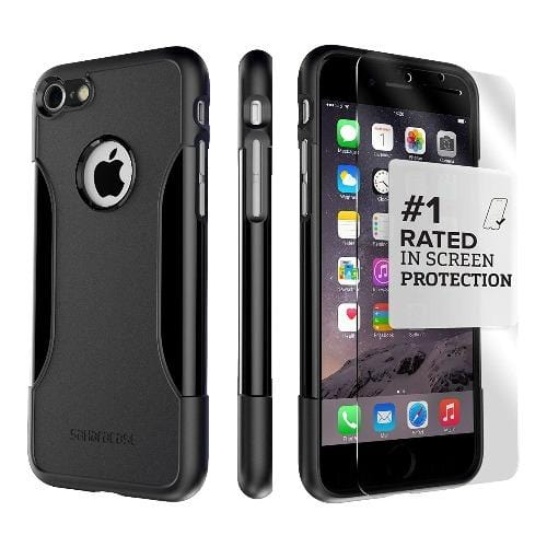 SaharaCase - Classic Series Case - iPhone SE(Gen 2)/ 8/7 - Scorpion Black - Sahara Case LLC