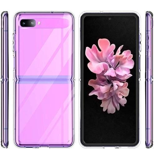 SaharaCase - Crystal Series Case - Samsung Galaxy Z Flip and Z Flip 5G - Clear - Sahara Case LLC