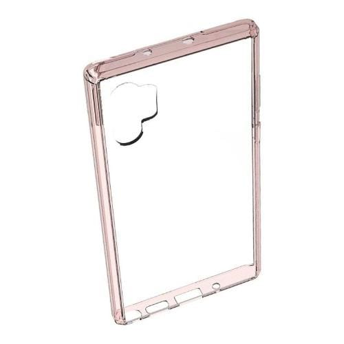SaharaCase - Crystal Clear Case - Samsung Galaxy Note 10 Plus - Clear Rose Gold - Sahara Case LLC