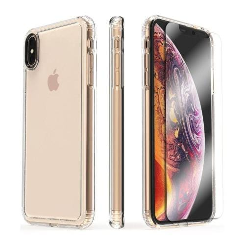 SaharaCase - Crystal Series Case - Apple iPhone XS Max - Clear - Sahara Case LLC