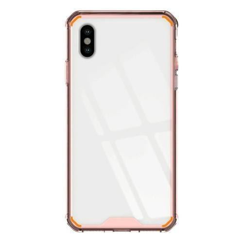 SaharaCase - Crystal Series Case - Apple iPhone XS Max - Clear Rose Gold - Sahara Case LLC