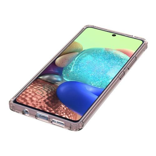 SaharaCase - Crystal Series Case - for Samsung Galaxy A71 5G - Clear Rose Gold - Sahara Case LLC