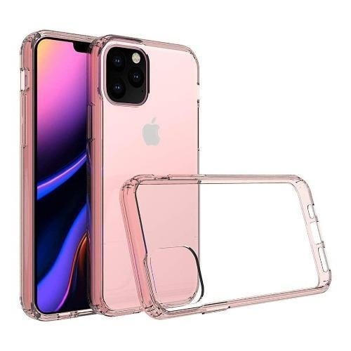 "SaharaCase - Crystal Series Case - iPhone 11 Pro 5.8"" - Clear Rose Gold - Sahara Case LLC"