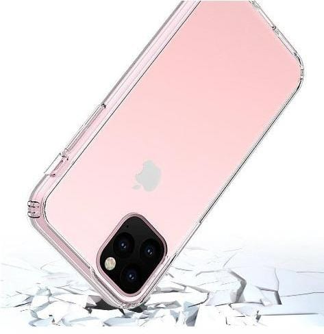 "SaharaCase - Crystal Series Case - iPhone 11 Pro Max 6.5"" - Clear - Sahara Case LLC"