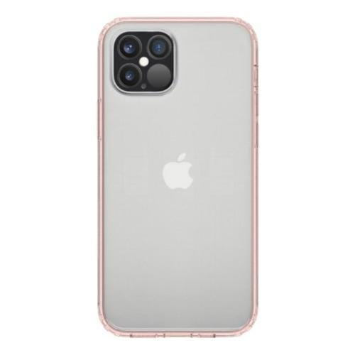 "SaharaCase - Crystal Series Case - iPhone 12 & iPhone 12 Pro 6.1"" - Clear Rose Gold - Sahara Case LLC"