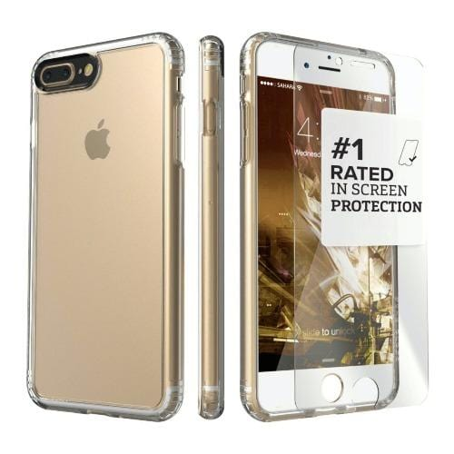 iPhone 8/7 Plus Clear Case - Crystal Series - Sahara Case LLC