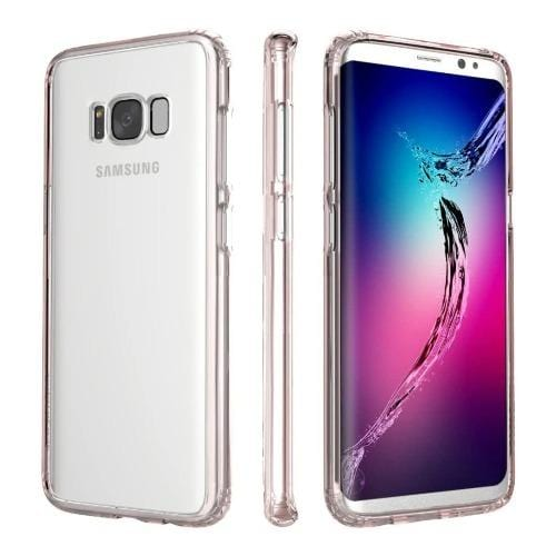 SaharaCase Crystal Series Case Only - Samsung Galaxy S8 Plus Clear Rose Gold - Sahara Case LLC