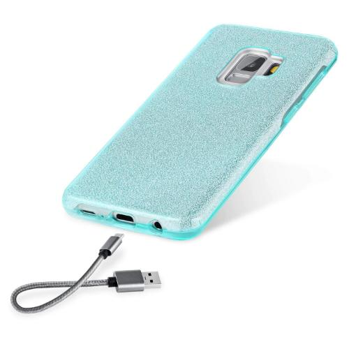 SaharaCase Crystal Series Case Only - Samsung Galaxy S9 Aqua - Sahara Case LLC