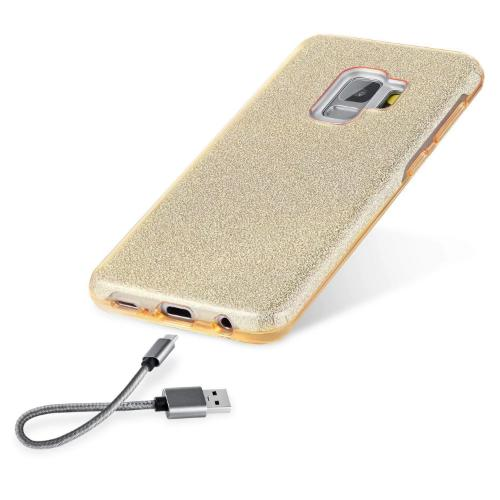 SaharaCase Crystal Series Case Only - Samsung Galaxy S9 Sparkle Desert Gold - Sahara Case LLC
