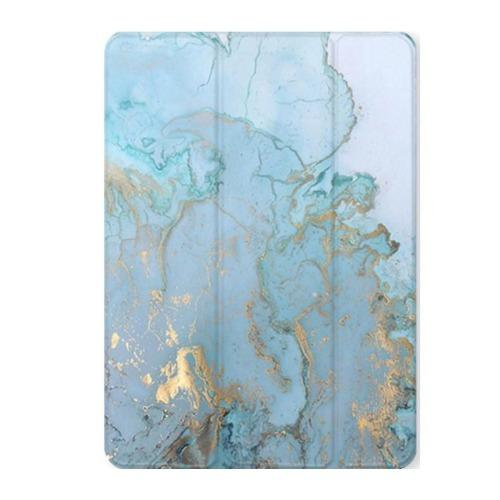 SaharaCase Custom Design Case Kindle Fire HD 10 (2019) Marble Blue - Sahara Case LLC